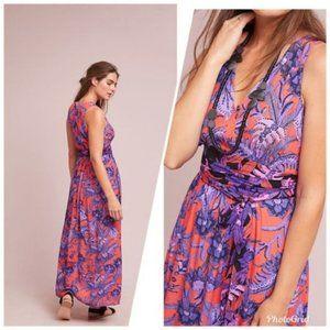 Anthropologie Maeve Macie Maxi Dress 14